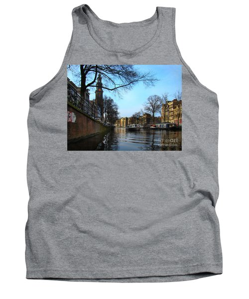 Canals Of Amsterdam IIi Tank Top