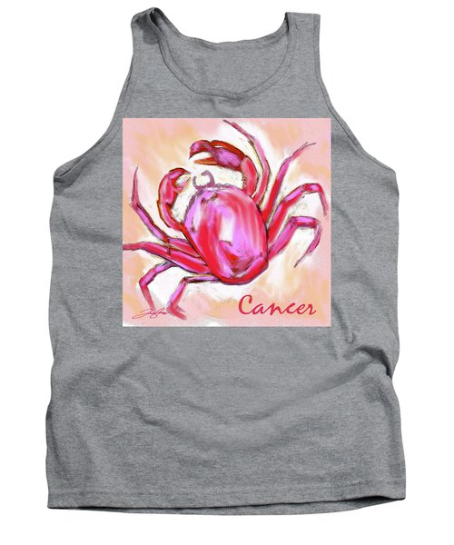 Cancer The Crab Tank Top