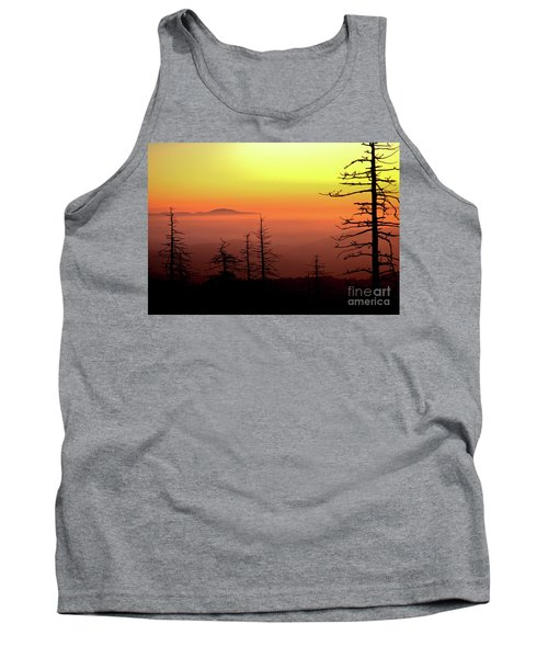 Tank Top featuring the photograph Candy Corn Sunrise by Douglas Stucky