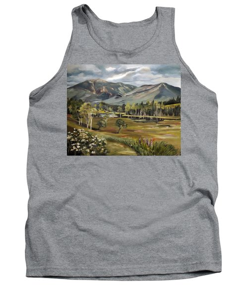 Cannon Mountain From Sugar Hill New Hampshire Tank Top