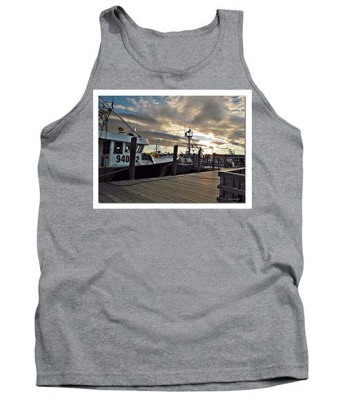 Tank Top featuring the photograph Cape Cod Harbor by Joan  Minchak