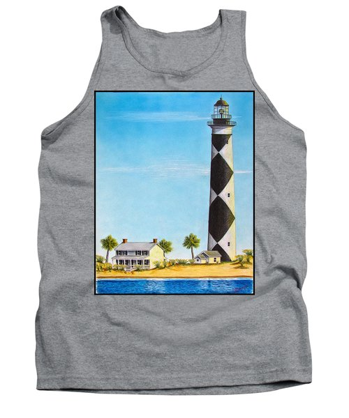Cape Lookout Lighthouse Tank Top