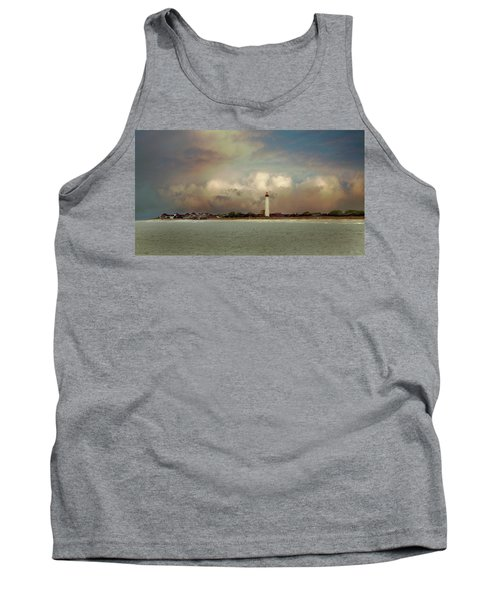 Cape May Lighthouse II Tank Top by John Rivera