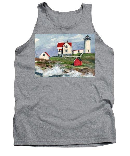 Cape Neddic Lighthouse  Tank Top