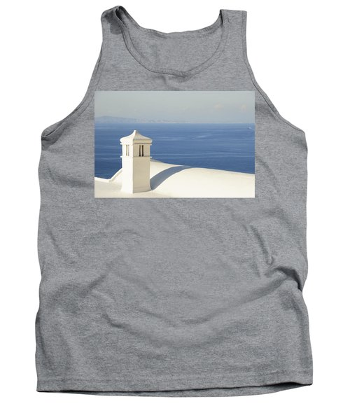 Tank Top featuring the photograph Capri by Silvia Bruno