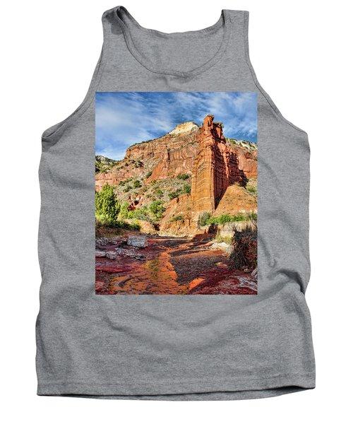 Caprock Canyon Cliff Tank Top