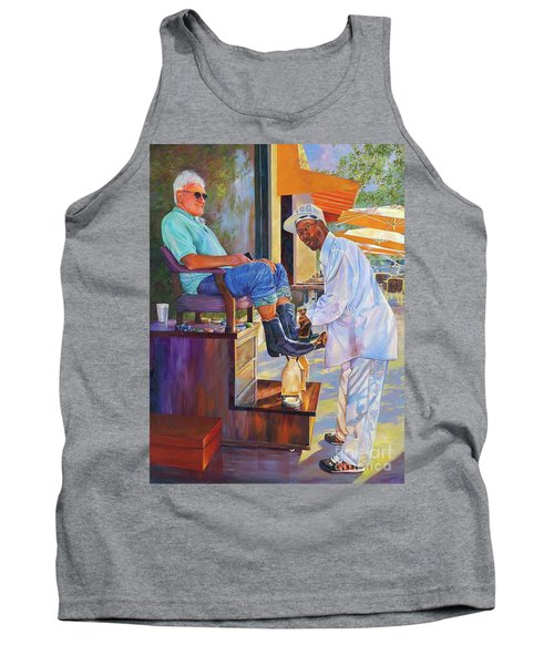 Captain Shoe Shine Tank Top