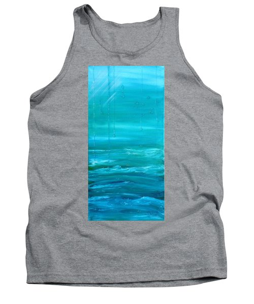 Captain's View Tank Top by T Fry-Green