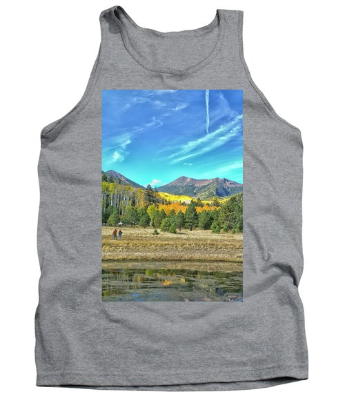 Captured Tank Top by Tom Kelly