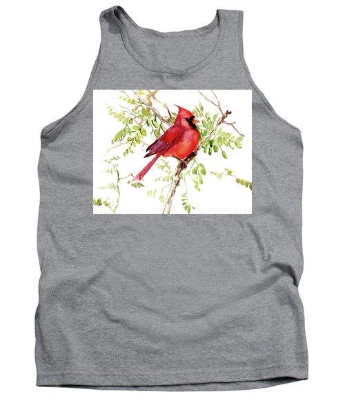 Cardinal Bird Tank Top
