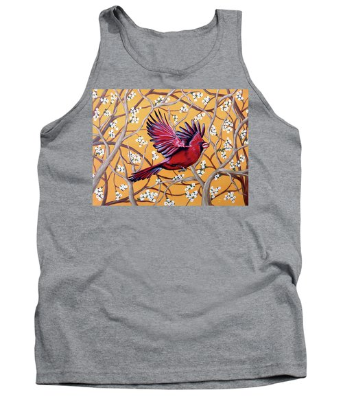 Cardinal In Flight Tank Top