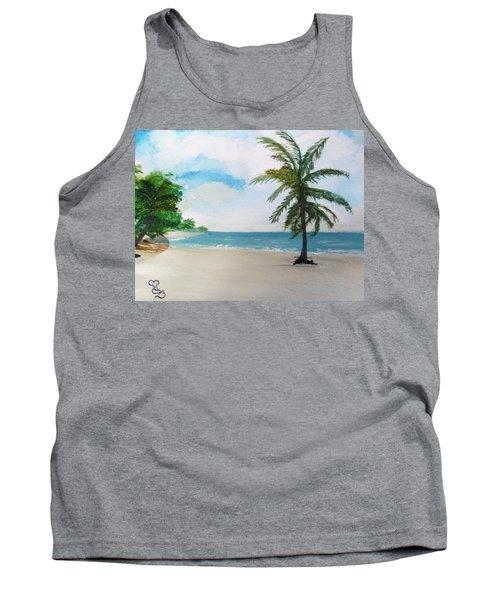 Caribbean Beach Tank Top