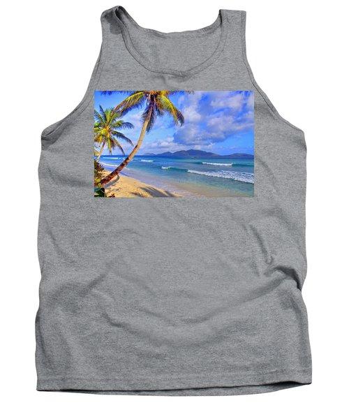 Caribbean Paradise Tank Top