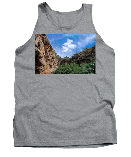 Tank Top featuring the photograph Carlsbad Caverns by Gina Savage
