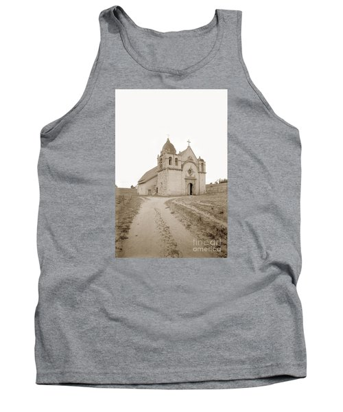 Carmel Mission South Side Circa 1915 Tank Top