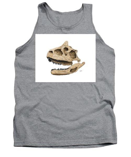 Carnotaurus Skull Tank Top