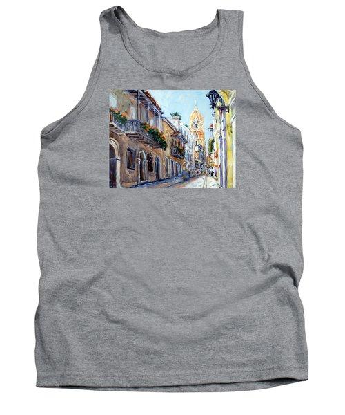 Cartagena Colombia Tank Top by Alexandra Maria Ethlyn Cheshire