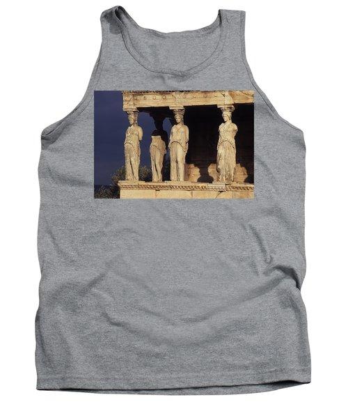 Caryatides At The Acropolis Tank Top