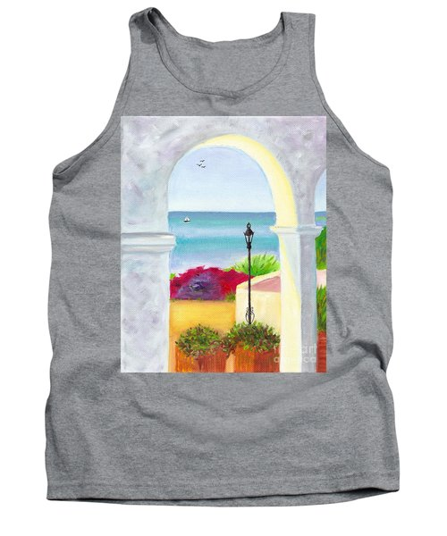 Casa Romantica View Tank Top