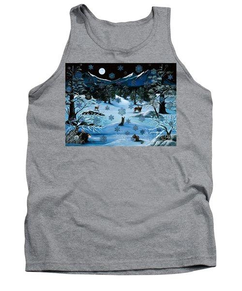 Cascade Snowflake Tank Top