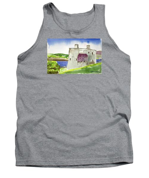 Castle From The Hill Tank Top