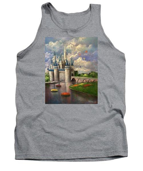 Castle Of Dreams Tank Top by Randy Burns