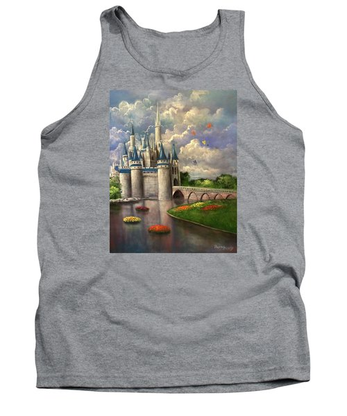 Castle Of Dreams Tank Top