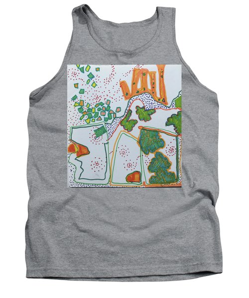 Castle On The Hill Tank Top