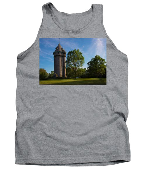 Castle Turret On The Green Tank Top