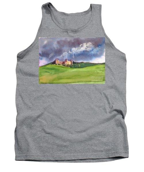 Castle Under Clouds Tank Top