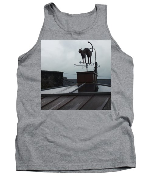 Cat On A Cool Tin Roof Tank Top