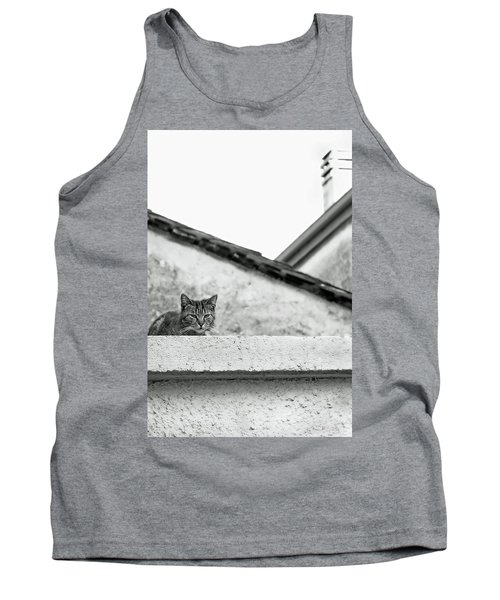Cat On A Roof, Varenna Tank Top by Brooke T Ryan