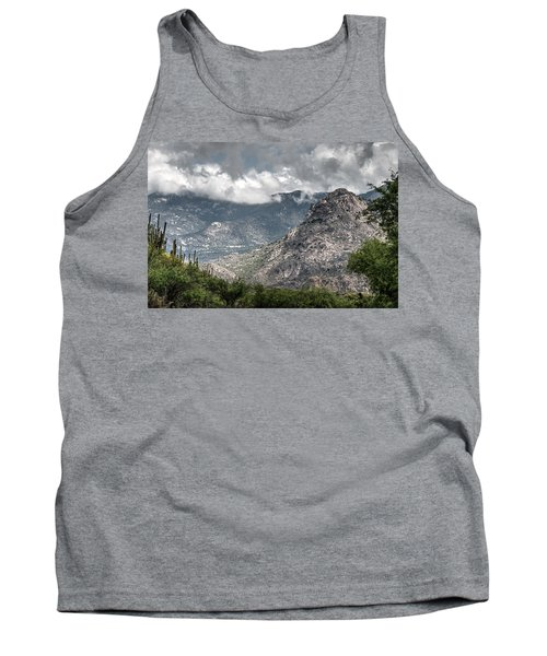 Catalina Mountains Tank Top by Tam Ryan