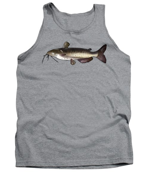 Catfish Drawing Tank Top by A C
