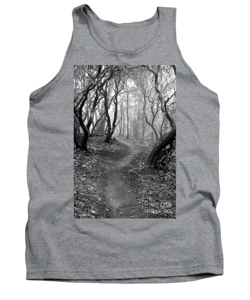 Cathedral Hills Serenity In Black And White Tank Top