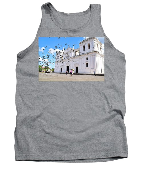 Cathedral Of Leon Tank Top