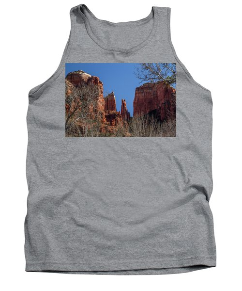 Cathedral Rock View Tank Top by Roger Mullenhour