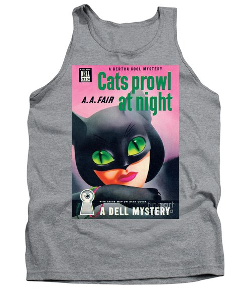 Cats Prowl At Night Tank Top