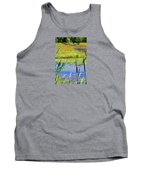 Cattail Tank Top by Chris Anderson