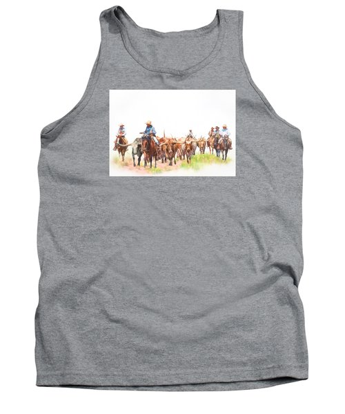 Cattle Drive Tank Top by David and Carol Kelly
