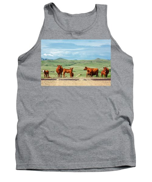 Cattle Guards Tank Top