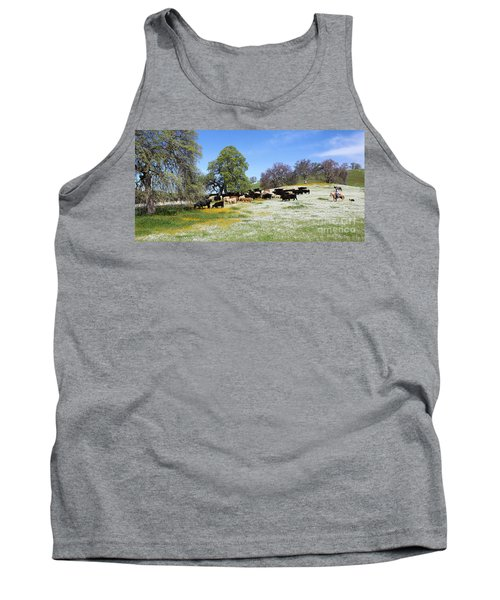 Cattle N Flowers Tank Top