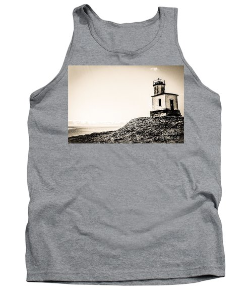 Tank Top featuring the photograph Cattle Point Lighthouse by William Wyckoff