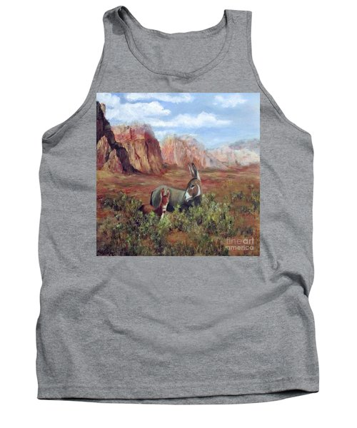 Caught In The Brush Tank Top