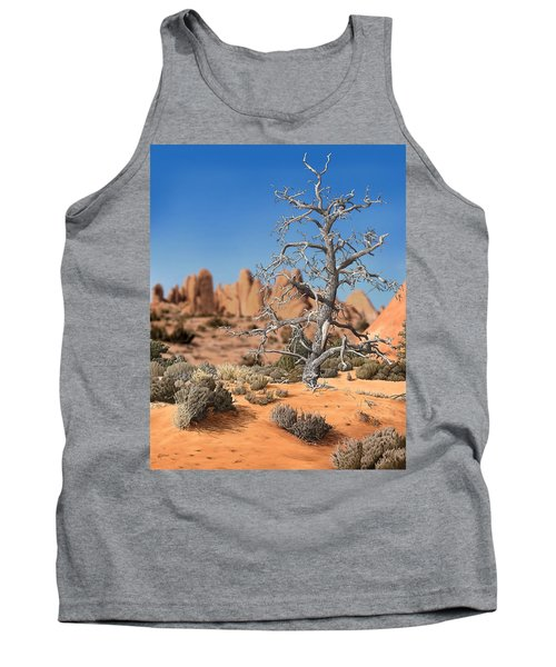 Caught In Your Dying Arms Tank Top