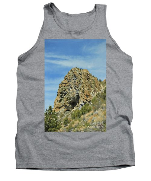 Tank Top featuring the photograph Cave Rock At Tahoe by Benanne Stiens