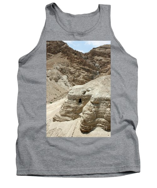 Caves Of The Dead Sea Scrolls Tank Top