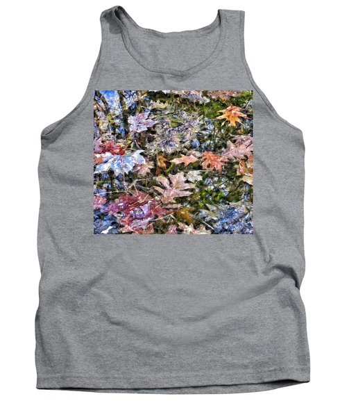 Springtime Reflections Of Falls Past Tank Top
