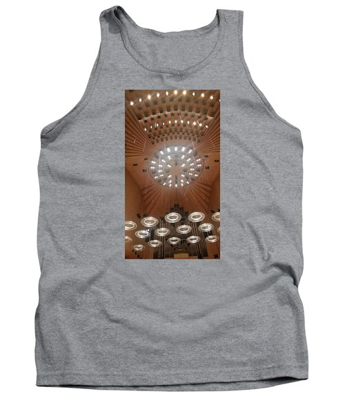 Ceiling Of Syndey Opera House Symphony Hall Tank Top by Bev Conover