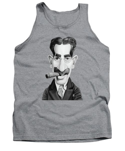 Celebrity Sunday - Groucho Marx Tank Top